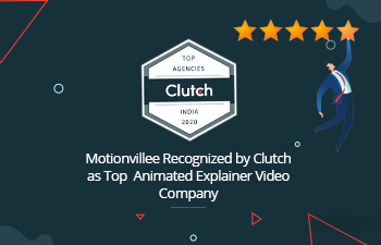 Motionvillee Recognized by Clutch as Top Animated Explainer Video